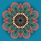 Fashion,Ilustration,Decoration,Blue,Indigenous Culture,Abstract,Mandala,Vector,Backgrounds,Pattern