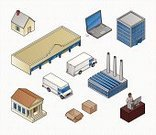 Isometric,Built Structure,Factory,Symbol,Warehouse,Computer Icon,Truck,Bank,Office Interior,Store,House,Business,Freight Transportation,Office Building,Vector,Distribution Warehouse,Computer,Supermarket,Shipping,Delivering,Laptop,Technology,Communication,Call Center,Ilustration,Data,IT Support,Set,Internet,Planning,Retail,Urban Scene,user,Courthouse,Wireless Technology,Brick,PC,Mobility,Collection,Group of Objects,On The Move,Desktop PC,Graph,Artificial Model,Graphing,Business,Industrial Objects/Equipment,Vector Icons,Illustrations And Vector Art,Objects/Equipment