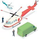 Isometric,Helicopter,Land Vehicle,Truck,Rescue,Medevac,Business,iso,Freedom,Delivering,Passenger,Pick-up Truck,Men,Freight Transportation,Service,Travel,Messenger,Pilot,The Human Body,Support,Working,tansport,Occupation,Human Resources,Flying,Business Travel,Transportation,Luxury,Piloting,Architecture And Buildings,People