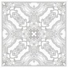 Hobbies,Computer Graphic,Drawing - Activity,Ornate,Ilustration,Intricacy,Individuality,Pencil,New,Kaleidoscope,Decor,Modern,Artist,Adult,Pattern,Relaxation,Creativity,Book,Coloring,Collection,Carpet - Decor,Vector