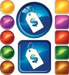 Price Tag,Price,Religious Icon,Symbol,Computer Icon,Circle,Sale,Store,Green Color,Label,Blue,Finance,Gold Colored,Currency,Wealth,Set,Internet,Yellow,Square Shape,Ilustration,Red,Shiny,Purple,Multi Colored,Vitality,Vibrant Color,Creativity,Brown,White,Design,Vector Icons,Vector,Illustrations And Vector Art,Glass - Material,Modern