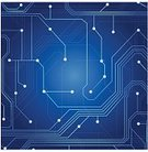 Technology,Blue,Backgrounds,Abstract,Ilustration,Computer Graphic,Internet,Pattern,processor,Futuristic,Mother Board,Computer Chip,Creativity,Science,Vector,Backdrop,Circuit Board,Electricity,Computer,Equipment