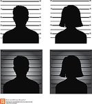 unidentified,Profile View,Police Force,White,Striped,lineup,Prisoner,Arrest,Men,Offense,Suspicion,Anonymous,Thief,Burglar,Silhouette,Criminal,Identity,Crime,Ilustration,Mug Shot,Prison,Black Color,Portrait,Raccoon