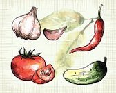 Vegetable,Slice,Crop,Cooking,Spice,Dieting,Four Objects,Watercolor Painting,Multi Colored,Colors,Electrical Component,Organic,Vector,White,Decoration,Red,Garlic,Sketch,Collection,Vitamin Pill,Design Element,Sadness,Ilustration,Watercolor Paints,Ink,Leaf,Cutting,Harvesting,Vegetarian Food,Bay Of Water,Cucumber,Chili Pepper,Pepper,Pepper - Vegetable,Tomato,Food,Vegan Food,Single Object,Group of Objects,Painted Image,Set,Stability,Doodle,Isolated,Ingredient,Craft,Summer,Green Color