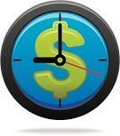 Currency,Time,Clock,Time is Money,Dollar,Urgency,Dollar Sign,Home Finances,Symbol,Finance,Currency Symbol,Wealth,Solution,Computer Graphic,Computer Icon,Ideas,Clip Art,Vector,Concepts,Creativity,Two-dimensional Shape,Investment,Ilustration,Bringing Home The Bacon
