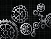 Technology,Vector,Design,Ilustration,Gear,Backgrounds,Abstract