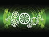 Ilustration,Design,Computer Graphic,Vector,Ideas,Backgrounds,Technology,Gear