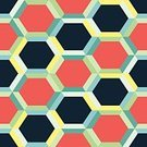 Geometric Shape,Painted Image,Seamless,Multi Colored,Hexagon,Modern,Ornate,Sparse,Abstract,Variation,Wallpaper Pattern,Wallpaper,Pattern,Backgrounds,Exoticism