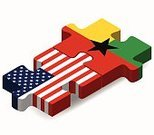Government,Group of Objects,nation,Flag,Cooperation,Business,Image,National Landmark,People,republic,Guinea,Bissau,USA,White Background,Sharing,Teamwork,guinean