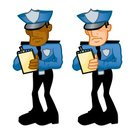 Police Force,Parking Ticket,Police Badge,Ticket,Traffic Cop,Officer,Police Uniform,Uniform,Badge,African Ethnicity,Legal System,Law,People,meter maid,Note Pad,Northern European Descent,Caucasian Ethnicity