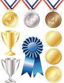 Trophy,Award,Medal,Award Ribbon,Gold Colored,Winning,Gold,Medallion,Success,Incentive,Platinum,Badge,Silver - Metal,Ribbon,Silver Colored,Seal - Stamp,First Place,Bronze,Metal,Bronze,Achievement,Star Shape,Record Breaking,Blue,Arranging,Decoration,Silver Medal,Gratitude,accolade,Gold Seal,Performance,Showing,Bronze Medal,Third Place,Second Place,Sports And Fitness,Illustrations And Vector Art,Success,Vector Icons,Competition,Concepts And Ideas