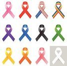 Support,Patriotism,Support Ribbon,White Background,royalty-free,Vector,USA,AIDS Awareness Ribbon,Breast Cancer Awareness Ribbon,Awareness Ribbons,Breast Cancer,Ribbon,Autism Ribbon,Social Awareness Symbol