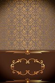 Decor,Wallpaper,Vertical,Design,Label,Brown,Pattern,Old-fashioned,Decoration,Backgrounds,Menu,Frame,Greeting Card,Ornate,Gold Colored,Illustration,Book Cover,Inviting,Copy Space,Glowing,No People,Retro Styled,Swirl,Holiday - Event,Invitation,2015,cover-book,Your Text