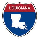 White Background,Badge,Cut Out,Louisiana,Design Element,268399,Computer Icon,Clipping Path,Sign,Photography,Symbol,Design,Interstate,Gulf Coast States,Square,Map,Highway,2015,No People,Transportation
