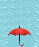 Rain,Vector,Water,White,Cold - Temperature,Weather,Parasol,Single Object,Red,Umbrella,Illustration,Season,Meteorology,Protection,Storm,Raindrop,Climate,Autumn,Liquid,Nature,No People