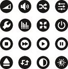Interface Icons,Playing,Playful,Technology,Brightly Lit,Vibrant Color,Multimedia,rewind,Next,Media Player,Start Button,Next Track,10-11 Years,Sound Mixer,user interface,Volume - Fluid Capacity,Volume,Sound,Setting,web icon,Control,Arrow Symbol,Design Element,Gear,Loopable,Power,Speaker,Clip Art,Bright,Repetition,Wrench,Shuffling,eject,Adjusting,Number 10,Contrasts,Front View,Stop,Resting,Previous Track,Symbol,Computer Icon,Icon Set,Design,full screen,Vector,Work Tool,music player,Control Panel,The Media,Ilustration