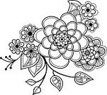 Arrangement,Rose - Flower,Leaf,Flower,Floral Pattern