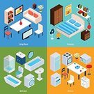 Isometric,Computer Icon,Computer,House,Apartment,Icon Set,Service,Domestic Room,Desk,Furniture,Home Interior,Design Element,Concepts,Social Issues,Industry,Abstract,Computer Network,Infographic,Domestic Life,Vector,Indoors,Study,Bookshelf,Chair,Business,Collection,Studying,Electric Lamp,Internet,Bed,Three Dimensional,The Media,Design,Kitchen,Illustration,Shelf,Shower,Set,Communication,Isolated,Bedroom,Closet,Technology,Lifestyles,Decoration,Table,Equipment