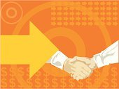 Handshake,Business,Connection,Making Money,Concepts,Contract,Success,$,Human Hand,Sale,Occupation,Meeting,Greeting,Currency Symbol,Reunion Island,Togetherness,Arrow Symbol,Harmony,Currency,Ideas,New Business,Labor Union,Winning,Men,Agreement,Congratulating,Businessman,Sales Occupation,Unity,Separation,Strength,earnings,Illustrations And Vector Art,Working