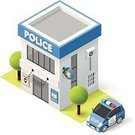Police Station,precinct,Authority,Office Interior,Service,Small,Street,Town,Home Ownership,Land Vehicle,Vector,Facade,Station,Isometric,Police Force,Car,police department,municipal