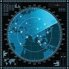 Flying,Radar,Communication,Blueprint,Military Target,Computer,Vector,Degree,Digital Display,detect,Symbol,Danger,Searching,Military,Design Element,Illustration,Equipment,Shape,Military Airplane,Retail Display,Globe - Man Made Object,Satellite View,Single Object,Weapon,Design,Black Color,blip,Blue,Traffic,Backgrounds,Airplane,Sonar,Aiming,Air,Technology,Eyesight,Computer Graphic,Protection,Sign,Computer Monitor,Visual Screen,Army,Order,World Map,Silhouette,Map