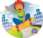 Skateboarding,Skateboard,Little Boys,Sports Helmet,African Ethnicity,Snail,Humor,Playing,Speed,Jumping,Sidewalk,Cloudscape,Stunt,Building Exterior,Sports And Fitness,Fitness,Fear,Cloud - Sky,Individual Sports,Outdoors,Extreme Sports,Urban Scene,Fun,Exercising,Playful