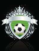 Soccer,Sign,Soccer Ball,Coat Of Arms,Insignia,Crown,Vector,Ball,Symbol,Ilustration,Grass,Green Color,Silver Colored,Scroll Shape,Star Shape,Shiny,No People,White,Digitally Generated Image,Vertical,Reflection,Small Group of Objects,Backgrounds,Award,Decoration,Design,Award Ribbon,Protection,Competition,Striped,Chrome,Wing,Nobility,Football,Stencil,Laurel Wreath,Textured Effect,Badge,Frame,USA,Artificial Wing,Peace Symbol,Ribbon,Weapon,Banner,Sport,Pattern,Trophy,Isolated On Black,Copy Space,Placard,Metallic,Sphere,Weathered,Championship,Wing,Arm,Shape,Shield,Medieval