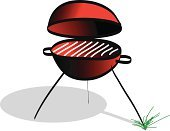 Barbecue Grill,Party - Social Event,Summer,Outdoors,Meat,Fire - Natural Phenomenon,Illustrations And Vector Art,Food,Smoke - Physical Structure,Fun