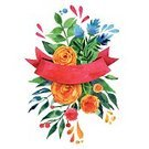 Computer Graphics,Image,Romance,Bouquet,Nature,Botany,Wedding,Multi Colored,Pattern,Branch,Leaf,Season,Flower Head,Summer,Decoration,Backgrounds,Computer Graphic,Ornate,Illustration,No People,Vector,Backdrop,2015
