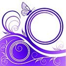 Purple,Butterfly - Insect,Spiral,Floral Pattern,Backgrounds,Abstract,Frame,Banner,Freedom,Paper,Single Line,Sign,Vector,Retro Revival,Design,Computer Graphic,Grunge,Ornate,Simplicity,Symbol,Image,Baroque Style,1940-1980 Retro-Styled Imagery,White,Curled Up,Ilustration,Insignia,Spire,Twig,Vignette,Silhouette,Elegance,Decoration,Leaf,Shape,Old-fashioned,Adulation,Style,Branch,Ringlet,Beauty In Nature,Vector Backgrounds,Nature Backgrounds,Illustrations And Vector Art,Vector Florals,Nature