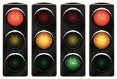 Stoplight,Lighting Equipment,Traffic,Bicycle,Semaphore Flag,Road Sign,Vector,Road Intersection,regulate,Red,Green Color,Urban Scene,Isolated,Street,City Life,Sign,Ilustration,Transportation,Illustrations And Vector Art,Vector Cartoons,Control,Warning Sign,Transportation,Warning Symbol,Isolated-Background Objects,Shiny,Yellow,Isolated Objects