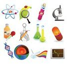 Science,Religious Icon,Symbol,Microscope,Scientific Experiment,Atom,DNA,Healthcare And Medicine,Icon Set,Test Tube,Prism,Vector,Nature,Laboratory Equipment,Rainbow,Toxic Substance,Caliper,Medicine,Earth,Set,Flask,Spectrum,Equipment,Pulse Trace,Conical Flask,Electron,Collection,Magnifying Glass,Capsule,Ladybug,Ilustration,Pencil,White Background,Leaf,Proton,Isolated Objects,Illustrations And Vector Art,Large Group of Objects,No People,Image Created 2000s