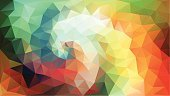 Computer Graphics,Creativity,Futuristic,Technology,Mosaic,Shape,Multi Colored,Two-dimensional Shape,Pattern,Decoration,Spiral,Backgrounds,Computer Graphic,Triangle Shape,Curled Up,Ornate,Abstract,Illustration,Pixelated,Glowing,No People,Vector,Geometric Shape,Swirl,Polygonal,2015,Techno,Swirl Background