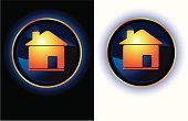 House,Home Interior,Residential Structure,Symbol,Dark,Gold Colored,Religious Icon,Black Color,White,Glowing,Creativity,Candid,Computer Icon,Orange Color,Shiny,Circle,Modern,Vibrant Color,Vector,Multi Colored,Ilustration,Yellow,Vitality,Internet,Illustrations And Vector Art,Vector Icons,Design,Oval Area,Contrasts,Blue,Set,High Contrast