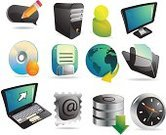 Religious Icon,Computer Icon,Data,Technology,Computer,Laptop,Communication,Desk Toy,Messenger,Internet,Disk,Computer Monitor,Discussion,Clock,Computer Peripheral,Equipment,Global Business,Global Communications,Isolated Objects,Illustrations And Vector Art