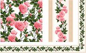 Rose - Flower,Frame,Flower,Pink Color,Seamless,Pattern,Single Flower,Floral Pattern,Vector,Mothers Day,Design,Wallpaper Pattern,Backgrounds,Romance,Bud,At The Edge Of,Elegance,Bouquet,Leaf,Rustic,Art,Summer,Scroll Shape,Decoration,Plant,Beautiful,Ilustration,Candid,Nature,Wrapping Paper,Flower Head,Cartouche,Beauty In Nature,Thorn,Ornate,Packing,Group of Objects,Green Color,Petal,Carving - Craft Product,Freshness,Stem,Single Object,selvage,Image,Illustrations And Vector Art,Vector Florals,Copy Space,Vector Backgrounds,Design Element,listel,Close-up,Vector Ornaments,Abstract