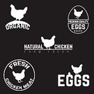 Food,Symbol,Sign,Freshness,Meat,Agriculture,Animal,Label,Farm,Bird,Restaurant,Menu,Badge,Illustration,Organic,No People,Vector,Merchandise,Insignia,Rooster,2015,Quality