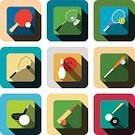 Bowling,Activity,Symbol,Competition,Sport,Ball,Computer Software,Sport of Cricket,Baseball - Sport,Rugby,American Football - Sport,Tennis,Squash - Sport,Badminton,Snooker,Table Tennis,Design,Dumbbell,Sphere,Long,Shadow,Golf Club,Computer Icon,Button,Illustration,Flat,Baseball - Ball,No People,Vector,Tennis Ball,Collection,Long Shadow Design,Mobile App,2015,Icon Set,Squash Ball