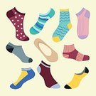 Image,Clothing,Garment,Personal Accessory,Symbol,Knitting,Pattern,Striped,Wool,Pair,Season,Backgrounds,Fun,Green Pea,Sock,Illustration,Group Of Objects,Vector,Fashion,Collection,2015,Fashion Icon