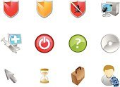 Shield,Three-dimensional Shape,Hourglass,Virus,Computer Icon,Symbol,Time,Computer Bug,Internet,Question Mark,Security,Network Security,One Person,Security System,Cursor,Web Page,Firewall,Icon Set,Business,Interface Icons,Arrow Symbol,Bag,DVD,Assistance,Illustrations And Vector Art,Vector Icons,CD,Disk,Disk,Computers,Technology,Injecting,Business,Business Symbols/Metaphors,Desktop PC