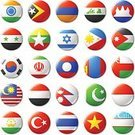 Symbol,Sign,Independence,Magnet,Shiny,Flag,Asia,Nepal,Tajikistan,South Korea,Cambodia,Indonesia,Malaysia,Philippines,Vietnam,India,Pakistan,Iran,Iraq,Israel,Turkey - Middle East,National Flag,Armenia,Internet,Circle,Thailand,Indonesian Culture,Computer Icon,Thai Culture,Badge,Patriotism,Illustration,Indonesian Flag,No People,Vector,Government,Travel,Insignia,2015,Round Button
