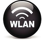 Simplicity,Sign,Shiny,Communication,Communications Tower,Design,Pushing,Internet,Black Color,Gray,Sphere,Circle,Computer Icon,Illustration,Vector,Wireless Technology,2015,WLAN,w-lan
