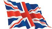 British Flag,Flag,English Flag,England,UK,Vector,National Flag,Waving,Banner,Pennant,Insignia,Red,No People,Horizontal,Ilustration,Isolated Objects,Holidays And Celebrations,Illustrations And Vector Art,White