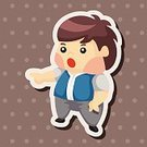 People,Smiling,Family,Small,Childhood,Child,Adult,Cute,Illustration,Men,Boys,Vector,Student,Schoolboy,2015,Man Icon