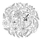 Background,Love,Doodle,Animal,Cute,Wedding,Illustration,Nature,2015,Inviting,Easter,Invitation,Backgrounds,Vector