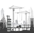 Construction Industry,Skyscraper,Horizontal,No People,City,Illustration,2015,60595,Residential Building