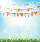 Floral,Sun,Event,Enjoyment,Shiny,Nature,Flag,Party - Social Event,Traditional Festival,Birthday,Green Color,Multi Colored,Flower,Sun,Springtime,Summer,Lawn,Field,Meadow,Decoration,Childhood,Sunlight,Backgrounds,Child,Triangle Shape,Frame,Grass,Chamomile,Congratulating,Blossom,Illustration,Celebration,Inviting,Leisure Activity,Vector,Bunting,Flapping,Pennant,Jubilee,Vibrant Color,Chamomile Plant,Relaxation,Invitation,Arts Culture and Entertainment,60161,2015,Chamomile,Flapping,,Greet Card,60496