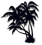 Palm Tree,Island,Silhouette,Tree,Retro Revival,Beach,Black Color,Coconut Palm Tree,Tropical Climate,Old-fashioned,Clip Art,Vector,Outline,Drawing - Art Product,Style,Shape,Abstract,Leaf,Design,Ilustration,Summer,Decoration,Art,Plant,Season,Design Element,Illustrations And Vector Art,Light - Natural Phenomenon,Nature,Backgrounds,Travel Locations,Beautiful,Heat - Temperature,Nature,Shadow