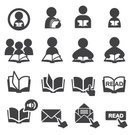 Reading,Symbol,Learning,Vector,Education,Mail,Document,Book,gpa,Illustration,Image,editable