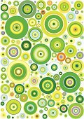 Circle,Pattern,1940-1980 Retro-Styled Imagery,Fun,Backgrounds,Seamless,Retro Revival,Bubble,Multi Colored,Funky,Green Color,Abstract,Summer,Shape,Vector,Cool,Wallpaper Pattern,Textured,Light - Natural Phenomenon,Springtime,Tiled Floor,Computer Icon,Freshness,Textured Effect,Yellow,Symbol,Vibrant Color,Curve,vector background,Vector Backgrounds,Illustrations And Vector Art